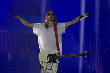 Fotos: Thirty Seconds To Mars live in der Schleyerhalle Stuttgart